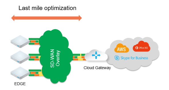 SD-WAN Cloud Gateway